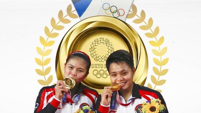 Raih Medali Olimpiade Tokyo, Pegadaian Apresiasi Greysia Polii Cs dengan Emas 3 Kg