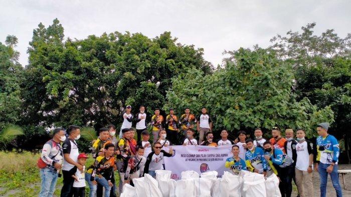 DLH Bolmong Ajak Warga tak Buang Sampah di Sungai hingga Pinggir Jalan Trans Sulawesi