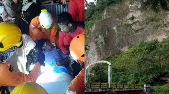Kisah Pegawai PDAM Jatuh di Jurang Sedalam 70 Meter, Berawal dari Sengata Lebah