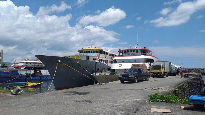 Dikabarkan Alami Kendala di Laut, KM Barcelona Akhirnya Tiba di Pelabuhan Manado