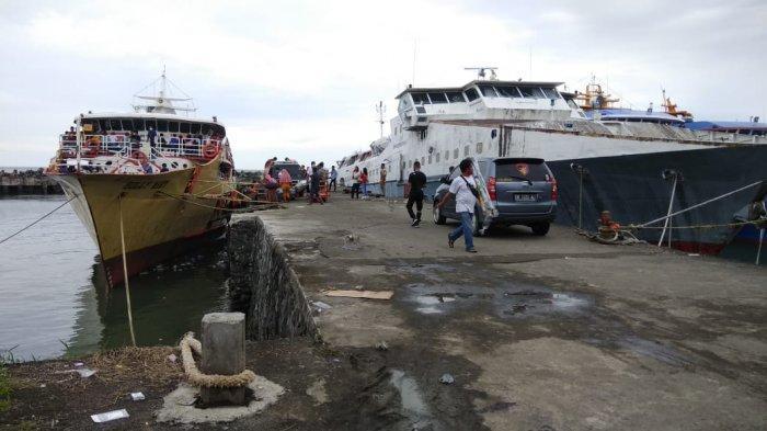 H-2 Perayaan Natal, Arus Mudik di Pelabuhan Manado Padat, Warga Kepulauan Mulai Datang Berbelanja