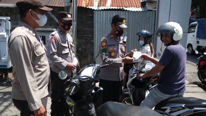 Operasi Yustisi Masa PPKM di Manado, Petugas Masih Dapati Pelanggaran Prokes