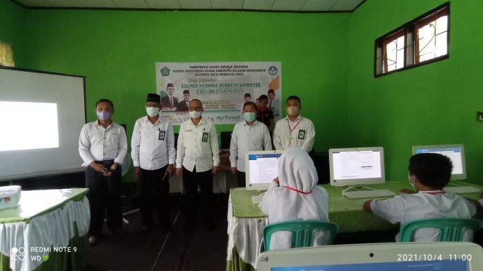 68 Siswa MTs di Bolmong Ikut ANBK, Shabri Bora Minta Guru dan Murid Tingkatkan Kualitas