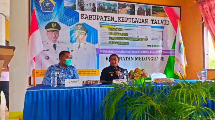 Wabup Talaud Moktar Parapaga Pimpin Bimtek Pengoperasian SPEP