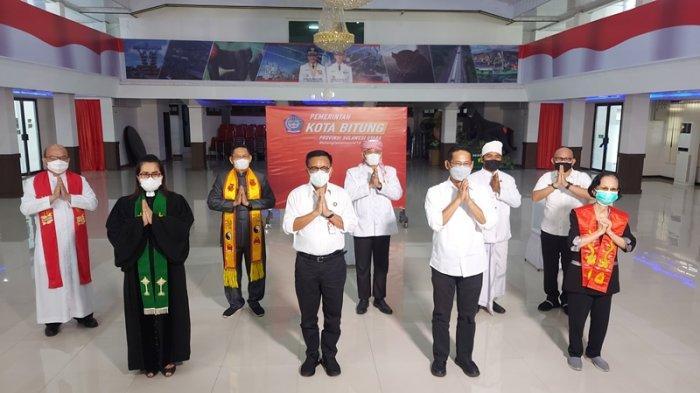 Doa Lintas Agama dari Kota Bitung: Semoga Indonesia Pulih dan Selamat dari Pandemi Covid 19