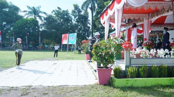 Upacara HUT RI di Kotamobagu Menyesuaikan dengan Istana Negara