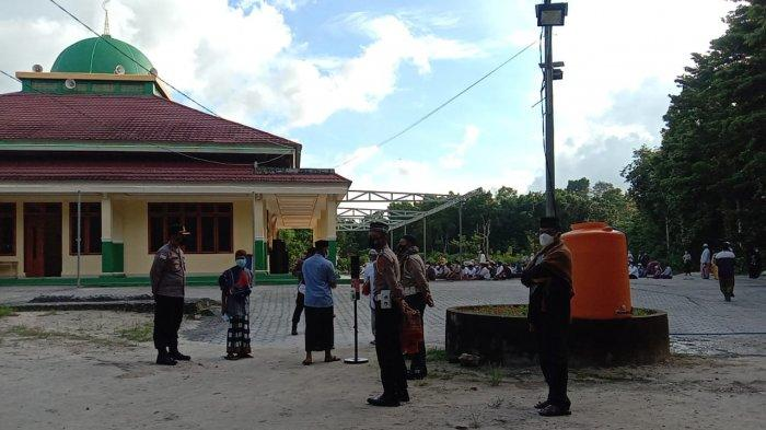 TNI Polri Lakukan Pengamanan Salat Idul Adha di Talaud, Warga Diimbau Patuhi Protkes