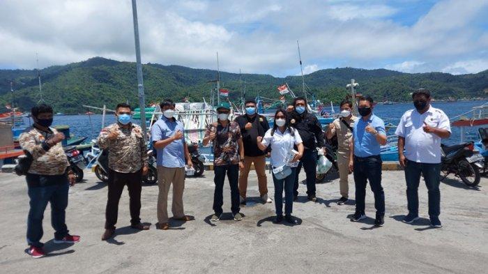 LSM dan Ormas di Bitung Bersama TNI Polri Lakukan Ini di Pelabuhan Perikanan
