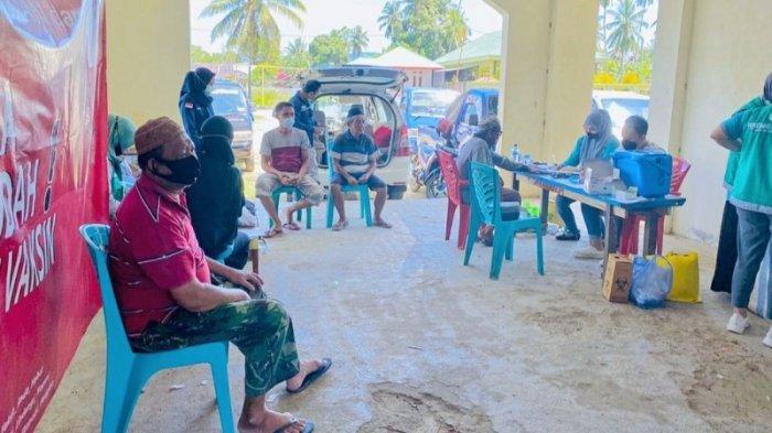 Pekan Ini Baru 334 Orang Ikuti Vaksinasi di Bolmut, Lumoto: Masih Belum Mencapai Target