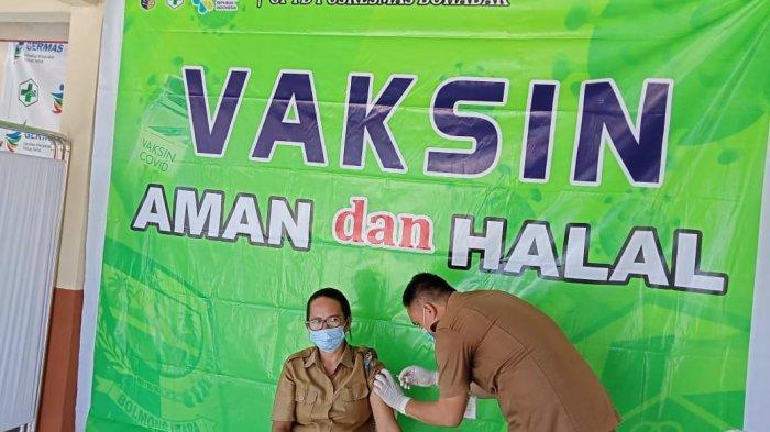 463 Guru di Bolmut Ikuti Vaksinasi Covid-19