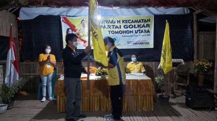 Tiga Ketua Kecamatan Era Jimmy Eman Diganti Wajah Baru, DPD I Golkar Sulut: Itu Perintah Organisasi