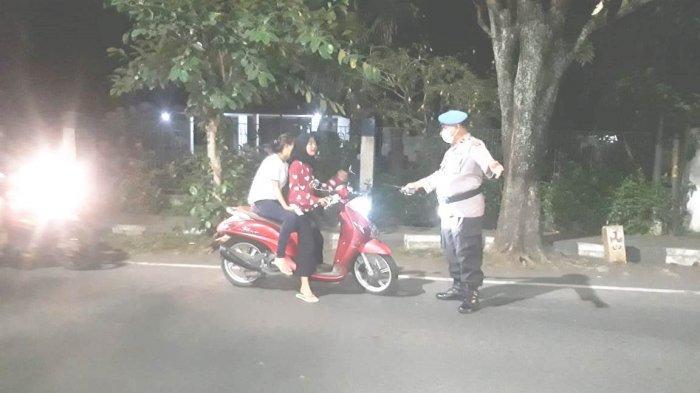TNI Polri Tilang 54 Kendaraan Dalam Operasi Gabungan di Kota Bitung