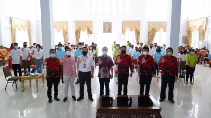 Wali Kota Caroll Senduk Bekali Forum Anak Kelurahan se Kota Tomohon