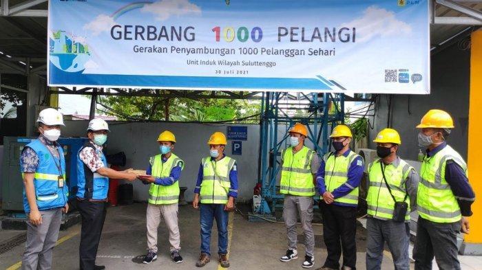 Pelaksanaan program gerbang 1000 pelangi oleh PLN Unit Induk Wilayah Suluttenggo.