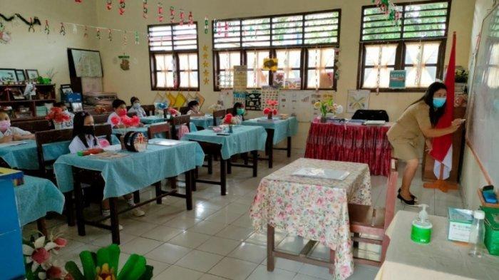 Sekolah-sekolah di Tomohon Mulai Menggelar PTM Terbatas