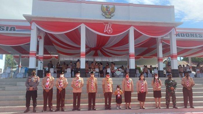 Pemerintah Kota Bitung Melaksanakan Upacara Memperingati Hari Pramuka ke-60