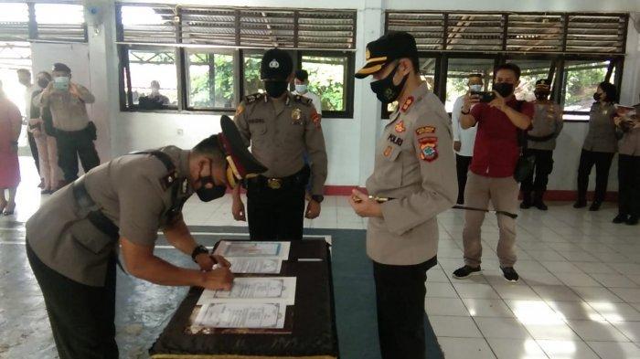 Mantan Katimsus Maleo Prevlly Tampanguma kembali Tugas di Mapolda Sulut