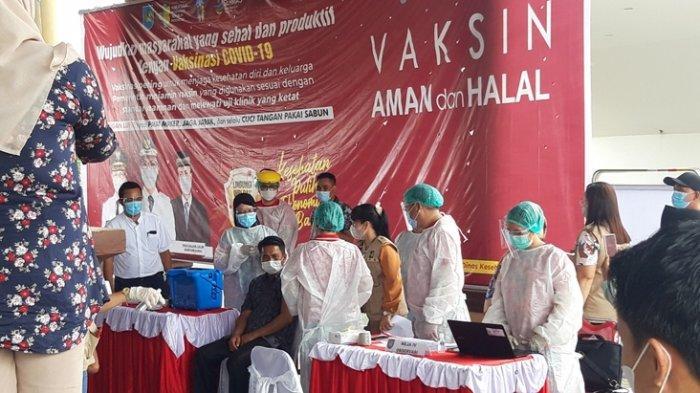 Vaksinasi Covid-19 Tahap Satu di Bolmong Capai 822 dari 985 Orang