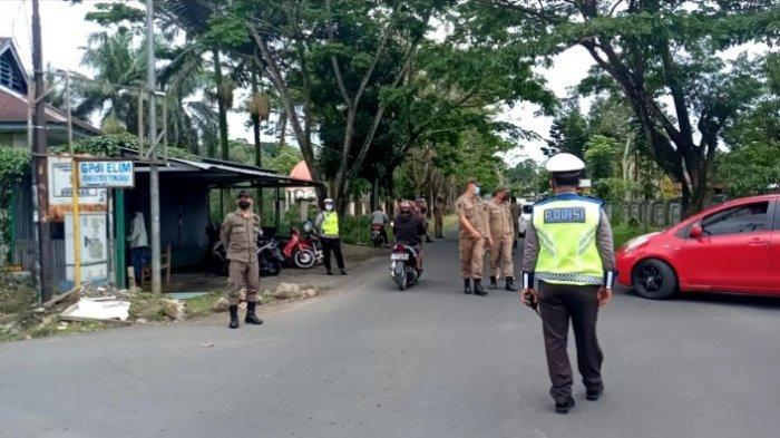 Laksanakan Operasi Yustisi, Polres Minahasa Sambangi Disdik