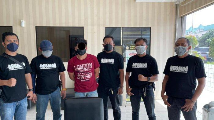 Pelaku judi togel yang ditangkap tim Macan Polresta Manado, Selasa (27/7/2021)