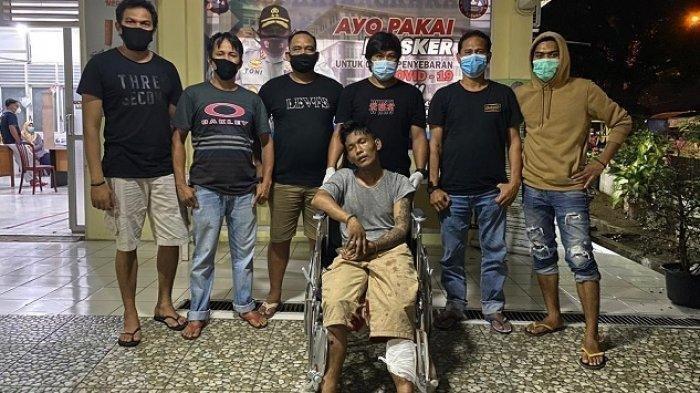 Pelaku pencurian saat diamankan Satreskrim Polresta Padang, Sabtu (24/10/2020)