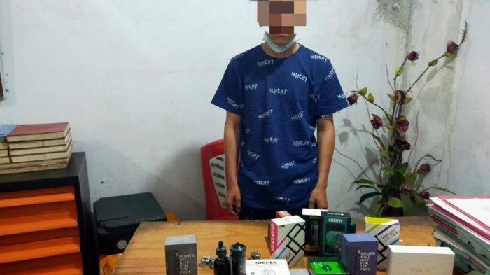 Aldo Ditangkap Polisi, Curi Rokok Elektrik di Vape Store Langowan, Kerugian Capai Rp.11 Juta