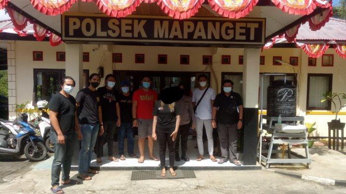 Pelaku Penganiaya Wanita di Mapanget Manado Ditangkap Polisi