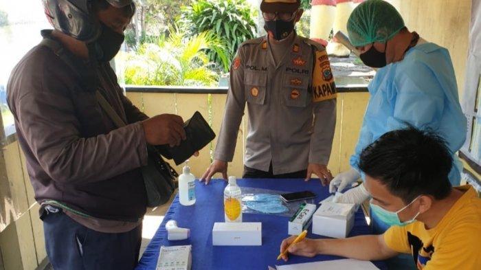 Pelanggar Protokol Kesehatan di Minahasa Utara 'Dihadiahi' Rapid Tes