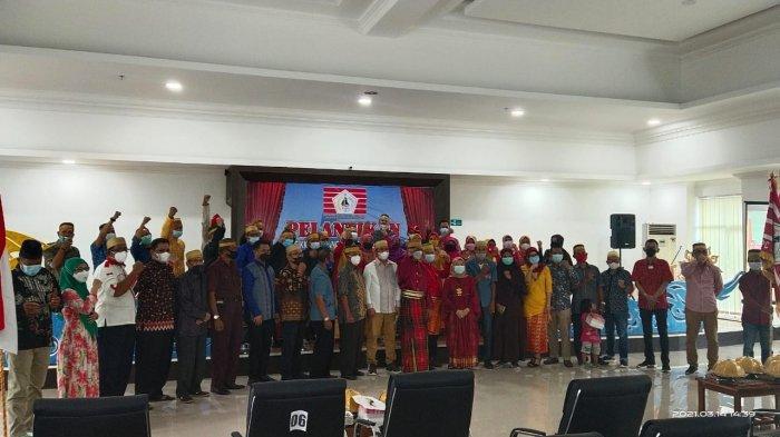 Ketua KKSS Manado Salahuddin Ganggong Lantik BPC KKSS Mapanget 2021-2026