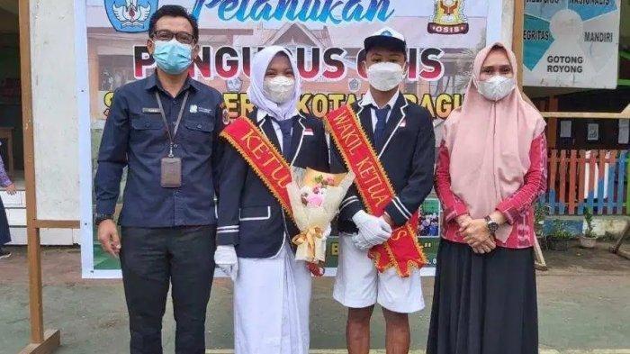 Terpilih Jadi Ketua OSIS SMP Negeri 1 Kotamobagu, Kasya Ikuti Jejak Kepemimpinan Ayahnya