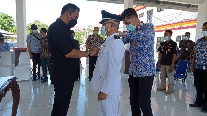 Bupati Boltim Sam Sachrul Mamonto Lantik Pjs Sangadi Bongkudai
