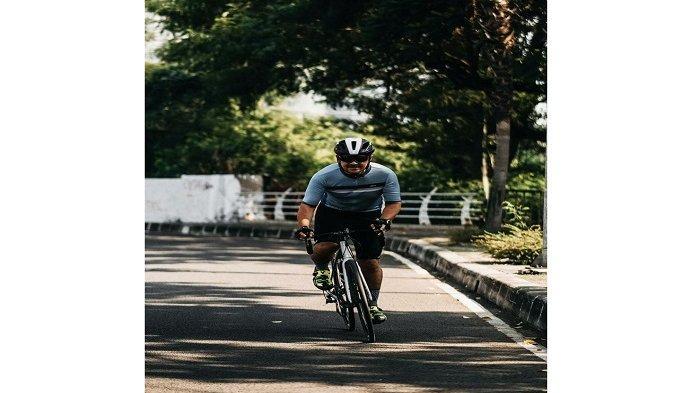 Pelari dan Pesepeda Galang Donasi