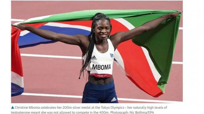 Pelari Wanita Ini 3 Kali Pecahkan Rekor Dunia di Olimpiade Tokyo 2020, Namun Dicurigai Sebagai Pria