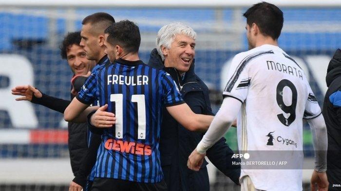 Kalahkan Sassuolo, Usaha Terakhir Atalanta Tunda Pesta Juara Inter Milan, Juve Good Bye Scudetto