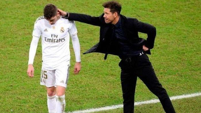 Gelandang Real Madrid Dapat Kartu Merah, Dipuji Pelatih Atletico Madrid