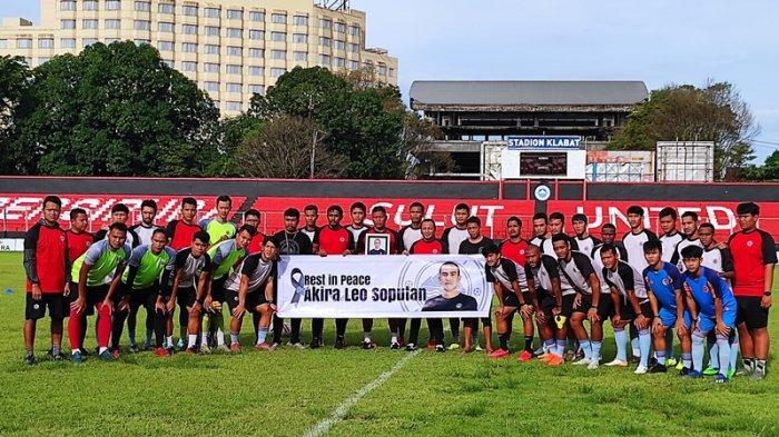 Pita Hitam Sulut United untuk Coach Leo Soputan di Stadion Klabat Manado