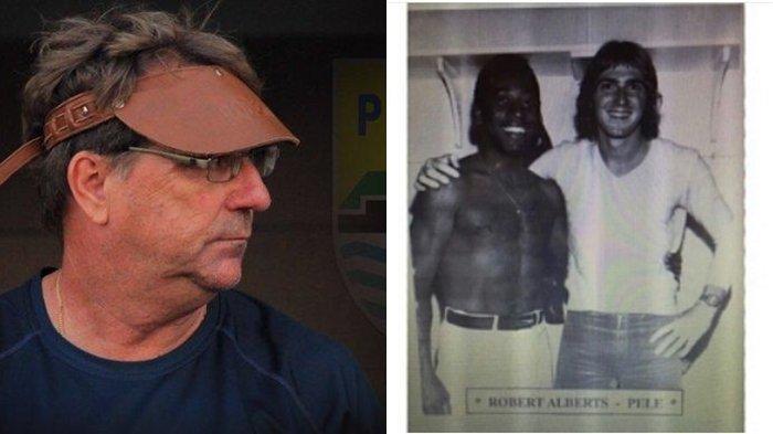 Kenangan Pelatih Persib Robert Alberts Saat Kalah dengan Pele, Legenda Sepak Bola Brasil