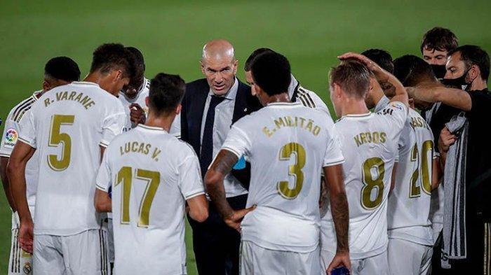 Starting Eleven Real Madrid Kontra Elche di Liga Spanyol, Zinedine Zidane Siapkan 'Armada Tempur'