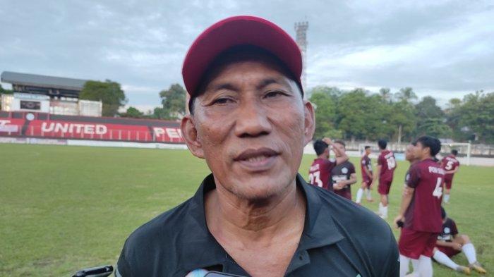 Fokus Latihan Teknis, Rudi Manumpil Belum Tentukan Pemain IntiTim Sepakbola PON Sulut