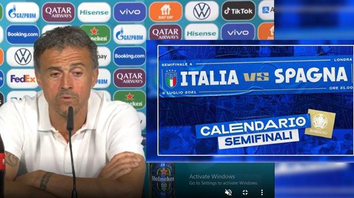 Pernyataan Pelatih Spanyol Luis Enrique Jelang Semifinal Euro 2020 Melawan Italia