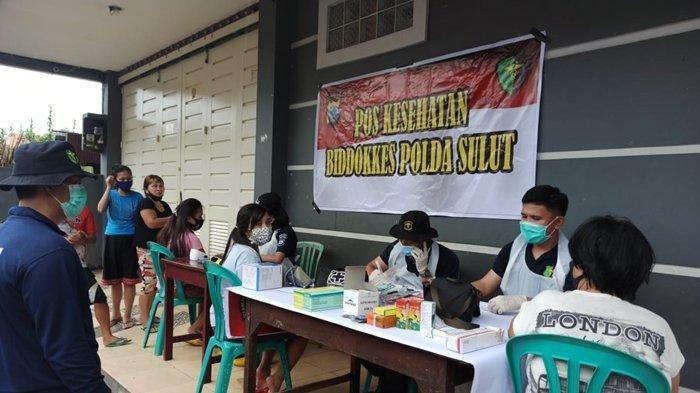 Biddokkes Polda Sulut Kembali Adakan Pelayanan Kesehatan, Kali Ini di Kelurahan Tanjung Batu
