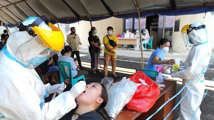 Pelayanan  skrining Swab PCR dan Antigen Dinkes Daerah Sulut pindah ke gedung eks KPP Pratama Manado, Jalan 17 Agustus mulai Senin (26/07/2021).