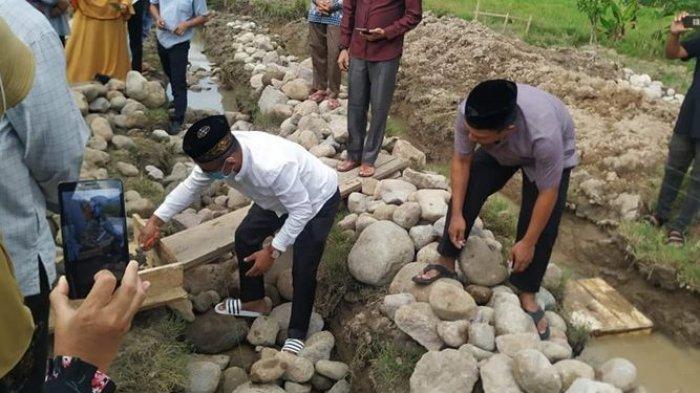 Pemkab Bolmong Kucur Dana Ratusan Juta Bangun SMP Islam Cendekia di Desa Mopait