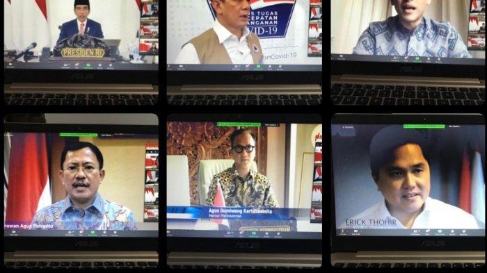 Jokowi Luncurkan Produk VCO Organik Karya Peneliti Unsrat, Berkhasiat Cegah Covid-19