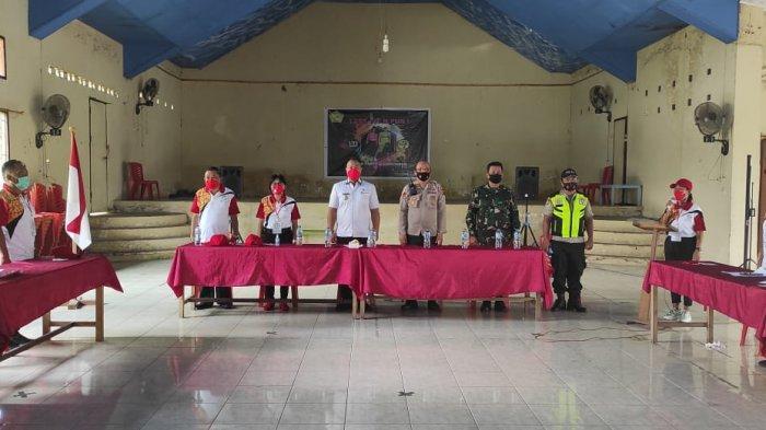 Peluncuran Pokja SDGs Desa di Desa Maumbi, Kecamatan Kalawat, Minahasa Utara, Sulawesi Utara, Rabu (7/4/2021).