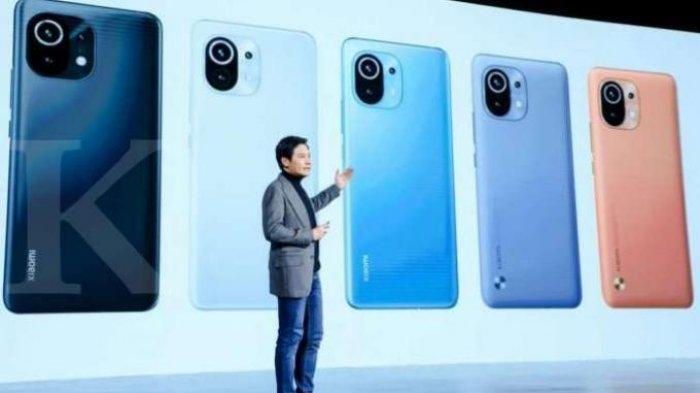 DAFTAR, Harga Terbaru HP Xiaomi Juni 2021, Xiaomi Mi 11 Dijual Harga Rp 9 Jutaan