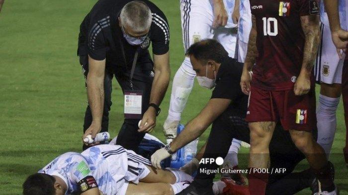 Untung Tulang Kering Leonel Messi Tidak Patah, Argentina dan PSG Sempat Harap-harap Cemas