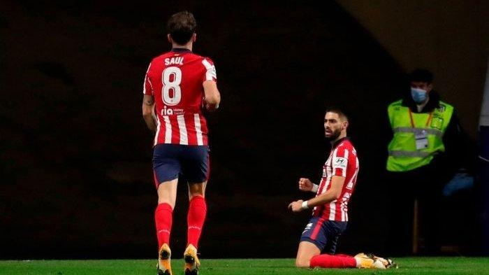Hasil Liga Spanyol Pekan ke-15 Real Sociedad vs Atletico Madrid, Los Rojiblancos Jauhi Real Madrid