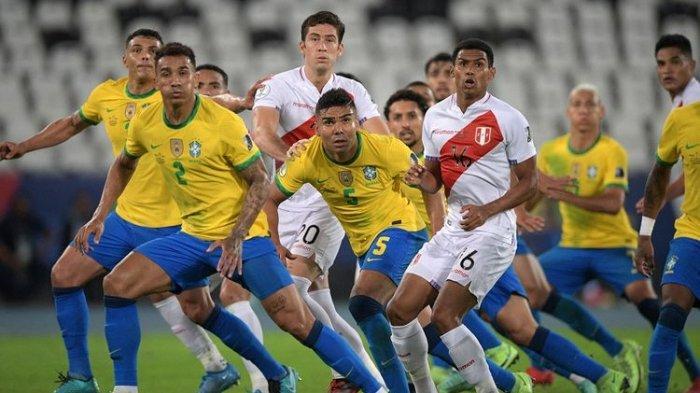 HASIL Brasil vs Peru Copa America 2021, Tim Samba Capai Final, Tunggu Pemenang Argentina vs Kolombia