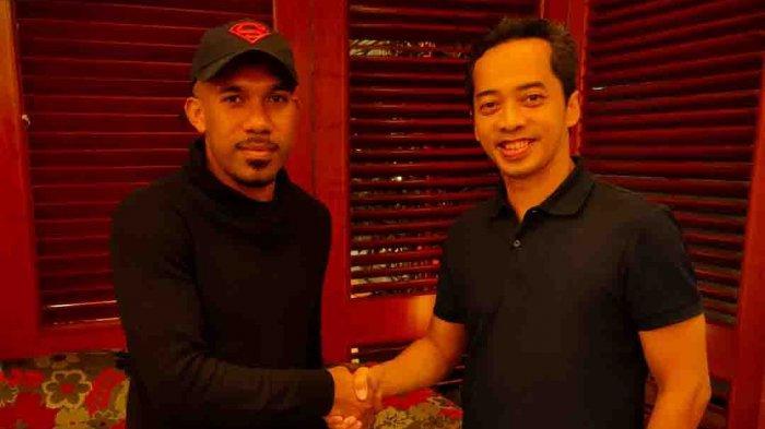 Pemain Icaran Persib Bandung Maichel Rumere Resmi Bergabung Bersama Sulut United
